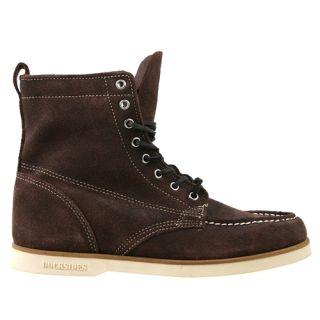 Sebago Mens Boots B20656 Fairhaven Boot Brown Rough Out Suede Sz 13 M