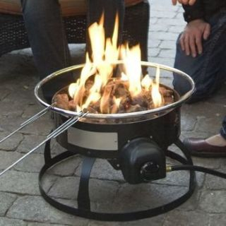Portable Propane Fire Pit Fireplace Place Outdoor Portable Gas NEW