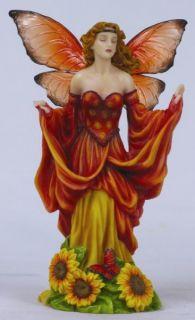 Flower Fairy Sunflower Faerie Figurine Statue Figure