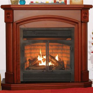 Ventless Heater Fireplace Natural Gas Propane LP Mantel