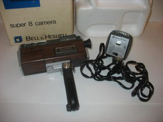 Bell Howell Autoload Super 8 Cartridge Movie Camera Lamp Film
