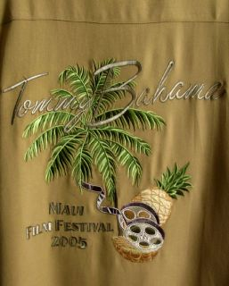 Camel Camp Shirt Maui Film Festival 2005 Embroidered XXL 2XL