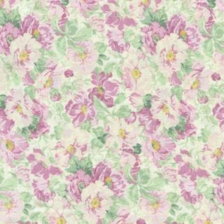 Regents Park Pale Pink Floral Cotton Fabric BTY for Quilting Crafts