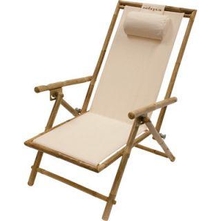 Adjustable Folding Lounge Chair — Comfortable Patio Furniture