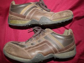 Mens Falls Creek Brown Leather Dress Casual Shoes Size 7.5 Used