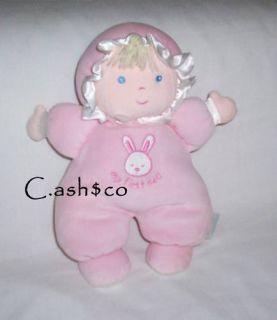 Prestige My First Doll Soft Plush Pink Baby Bunny 9 2