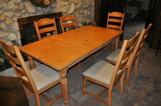 Dining Room Table And Chairs Pine