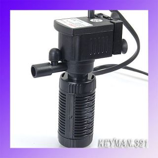 Fish Aquarium Tank Submersible Filter Tube 200 L H