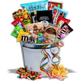 Junk Food Candy Snack Party Gift Basket Perfect for Holiday Birthday