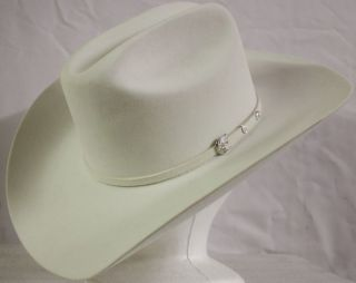 Famous Brand White 30 x Beaver Cowboy Hat