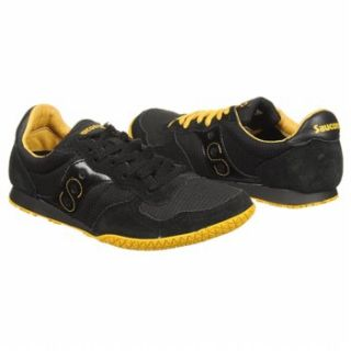 Athletics Saucony Mens Bullet Black/Yellow Shoes