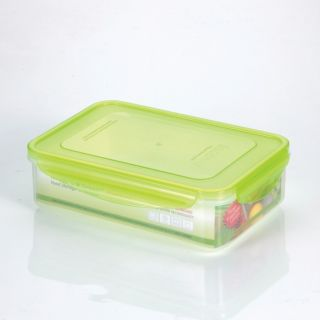 Quart Premium Rectangular Plastic Food Storage Container