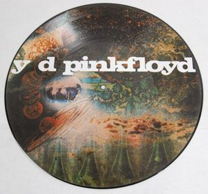 SEALED Pink Floyd Saucer Full of Secrets Picture Disc