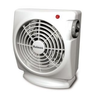 Holmes Compact Fan Forced Heater Fan HFH103 2 Heat Settings 1500 New