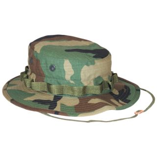 Ripstop Bush Boonie Hat Vietnam Era Hot Weather Fishing Hat