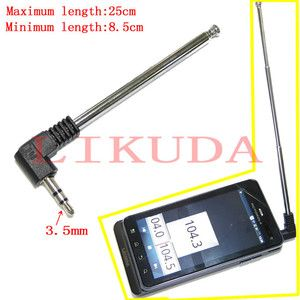 FM Radio Antenna for Motorola Droid 3 Mobile Cell Phone 3 5mm