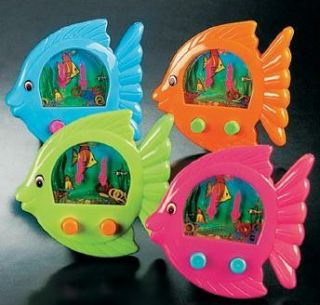 fish shaped water games luau birthday party favors