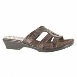 Womens   Brown   Sandals   Slide