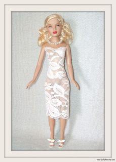 Lace Dress Jewelry 4 Tiny Kitty Doll Custom Fashion Beautiful