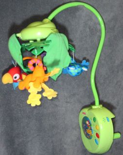 Fisher Price Rainforest Peek Boo Leaves Mobile Musical