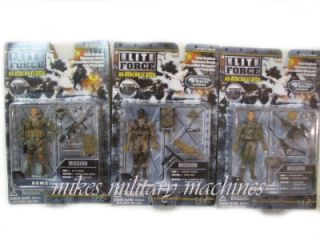 BBI Elite Force Ultimate 1 18 USMC Marines 3pc Combo Force Recon