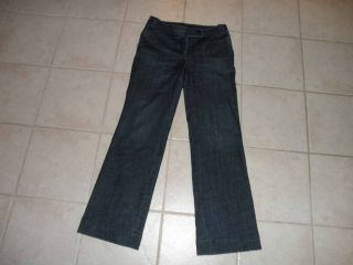 Talbots Womens Signature Flare Jeans Size 6 Regular 31 x 32 Trouser 6R