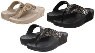 FITFLOP FLARE WOMENS THONG SANDAL SHOES ALL SIZES