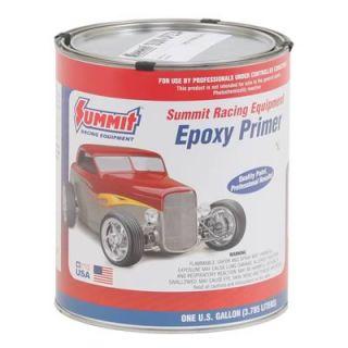 Summit Paint Single Stage Primer Flat Black Epoxy 1 Gallon Ea UP234