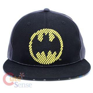 Marvel Batman Flat Bill Cap Hat ml or XL Licensed