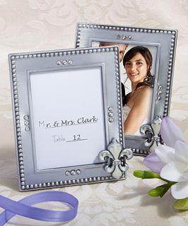 72 Fleur De Lis Picture Frames Wedding / Bridal Shower Favors