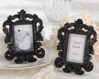 Baroque Place Card Holder/Photo Frame Wedding / Bridal Shower Favors