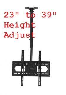LCD Flat Screen TV Monitor Ceiling Mount Brackets 1132