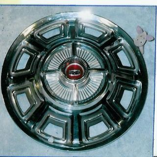 1966 Ford Fairlane XL 500 Spinner Wheel Cover 66 FoMoCo Parts 14