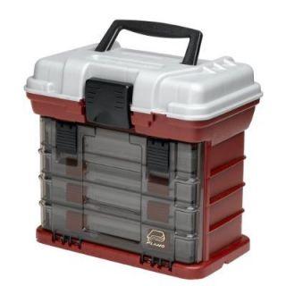 PLANO 3500 FISHING TACKLE BOX W 4 PROLATCH BOXES ***BRAND NEW***