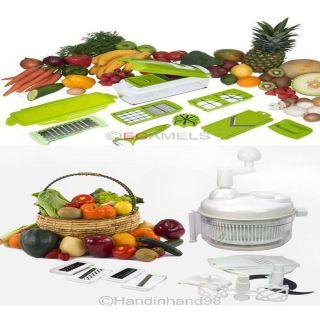 Fruit for Nicer Dicer Plus Chop Peeler Food Hand Crank Gadget