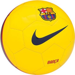 Nike Barcelona Football Soccer Ball Official Yellow Size 5 New