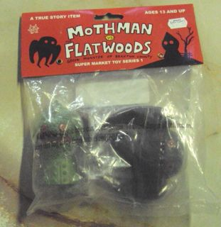 Mothman vs Flatwoods Monster Vinyl Ugly Dolls Horvath