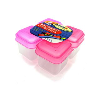 New Wholesale Case Lot Food Storage Containers Lids 48