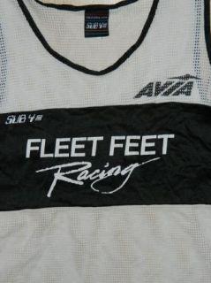 Vtg Sub 4 California Fleet Feet Racing Avia Mesh Track Field Tank Top