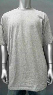Foot Locker Mens Big & Tall Cotton Basic T Shirt SZ 3XL Gray Short