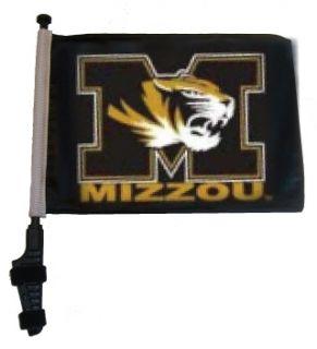 MISSOURI TIGERS MIZZOU Golf Cart Flag SSP Flags EZ On Off Bracket