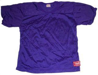 Rawlings YFJ75 Purple Football Jersey Youth