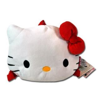 Sanrio Hello Kitty Pillow Flat Head Doll Plush Travel Gift Backpack