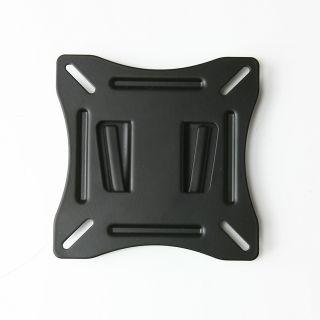 Black Low Profile Slim Flat Panel Fixed 10 24 LCD LED TV Wall