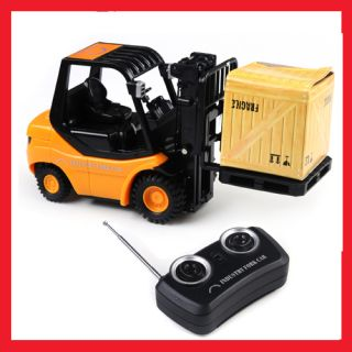 New Mini RC Toy Forklift Radio Remote Control Truck Car