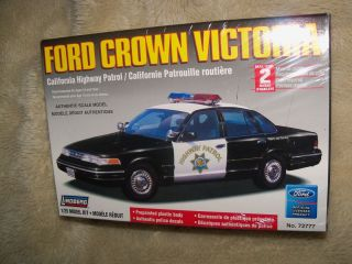 Ford Crown Victoria CALIFORNIA HIGHWAY PATROL Car* Lindberg 1/25 Model