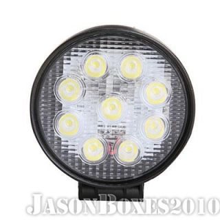 27W LED Work Spot Flood Light Lamp Truck Trailer SUV Jeep Boat