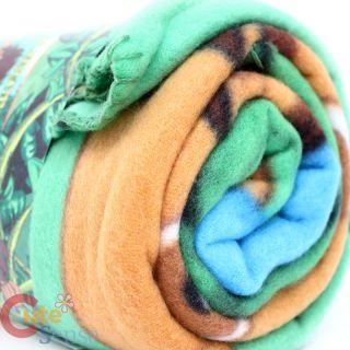 Dora The Explorer Diego Fleece Throw Blanket 50 x 60
