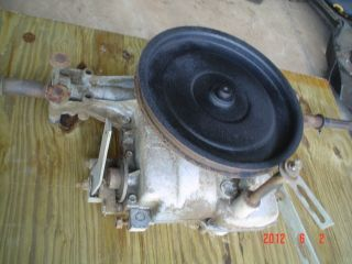 Foote spicer 5 speed Transmission Part # 4360 9 off of Murray Riding