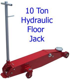 10 Ton Hydraulic Floor Jack Car Van Truck Tractor